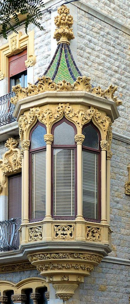https://flic.kr/p/Pp8Gjz | Tarragona - Rambla Nova 25 c | Casa Ramon Salas i Ricomà  1907  Architect: Ramon Salas i Ricomà