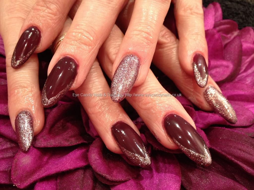 eye candy Nails & Training - Nails Gallery: Blueberry crush gel ...