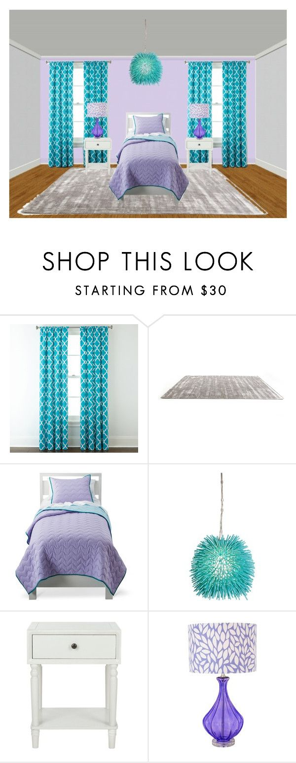 """braylee's room"" by dearfuturekiddos ❤ liked on Polyvore featuring Home Expressions, Circo, Varaluz and Safavieh"