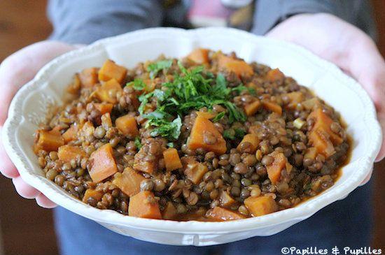Recette de lentilles : Lentilles à la marocaine | Recette ...