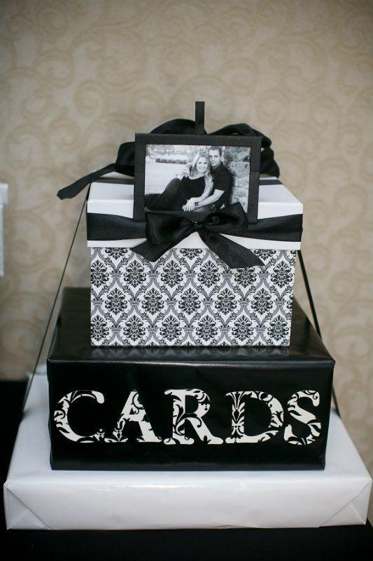 graduation card box homemade | The show stopping wedding cake ...