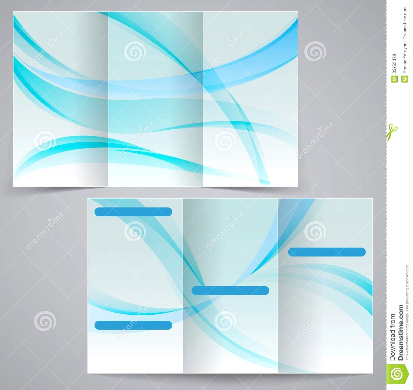 Blank Flyer Background Design