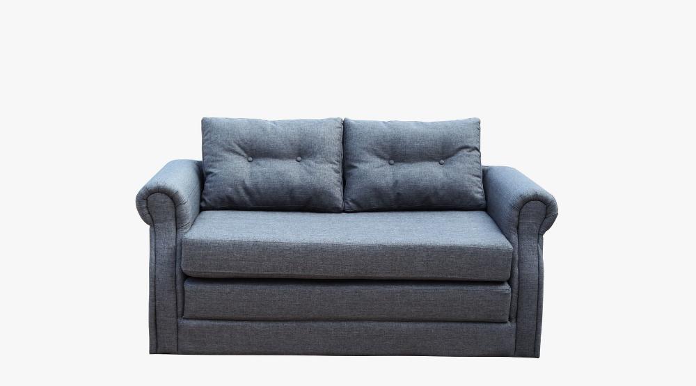 Groovy New Spec Inc Lucca Gray Modern Sofa Bed In Fabric Sofa Creativecarmelina Interior Chair Design Creativecarmelinacom