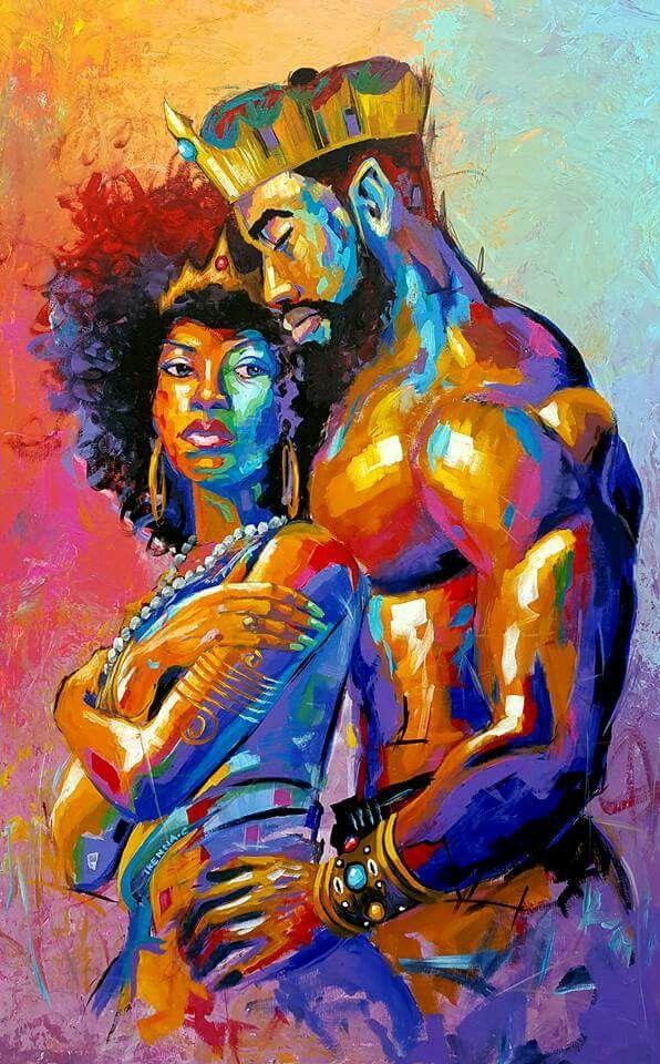 Samuel Ikenna Kong for a Queen … | Art from my eyez in 2018…