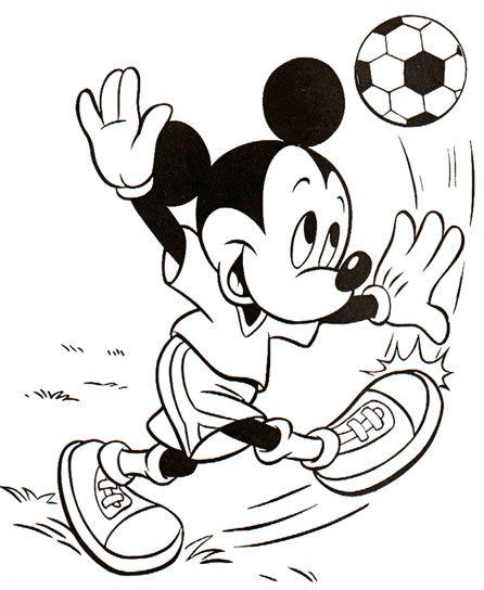 Coloriage Mickey à Imprimer En Ligne Et Gratuit Mickey