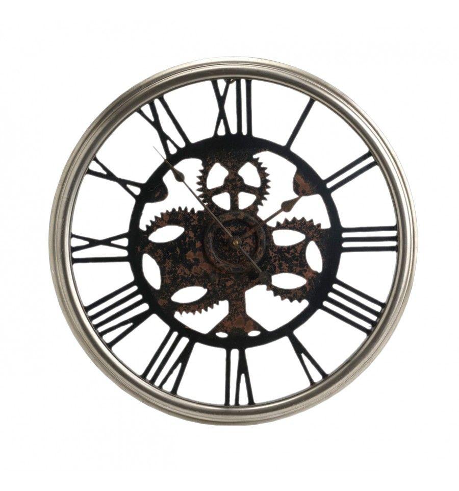 Reloj pared gigante industrial metal reloj pared - Reloj gigante pared ...