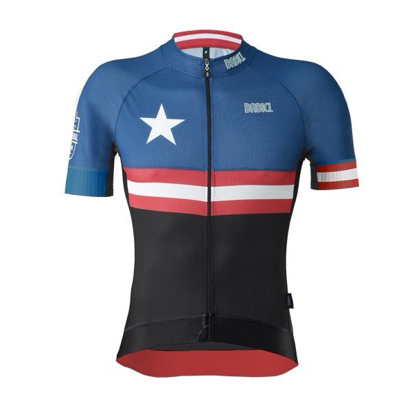 Captain America Jersey By Babici Cycling Outfit Womens Cycling