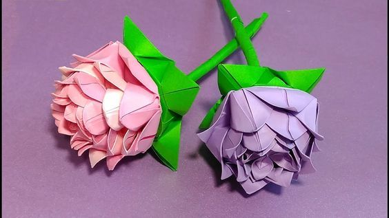 Easy origami rose it consists of 6 modules simple origami lotus easy origami rose it consists of 6 modules simple origami lotus flower how to mightylinksfo