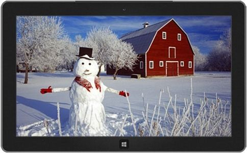 This theme features a hand made theme of Snowman which kids love to make outside their house. Description from technospot.net. I searched for this on bing.com/images