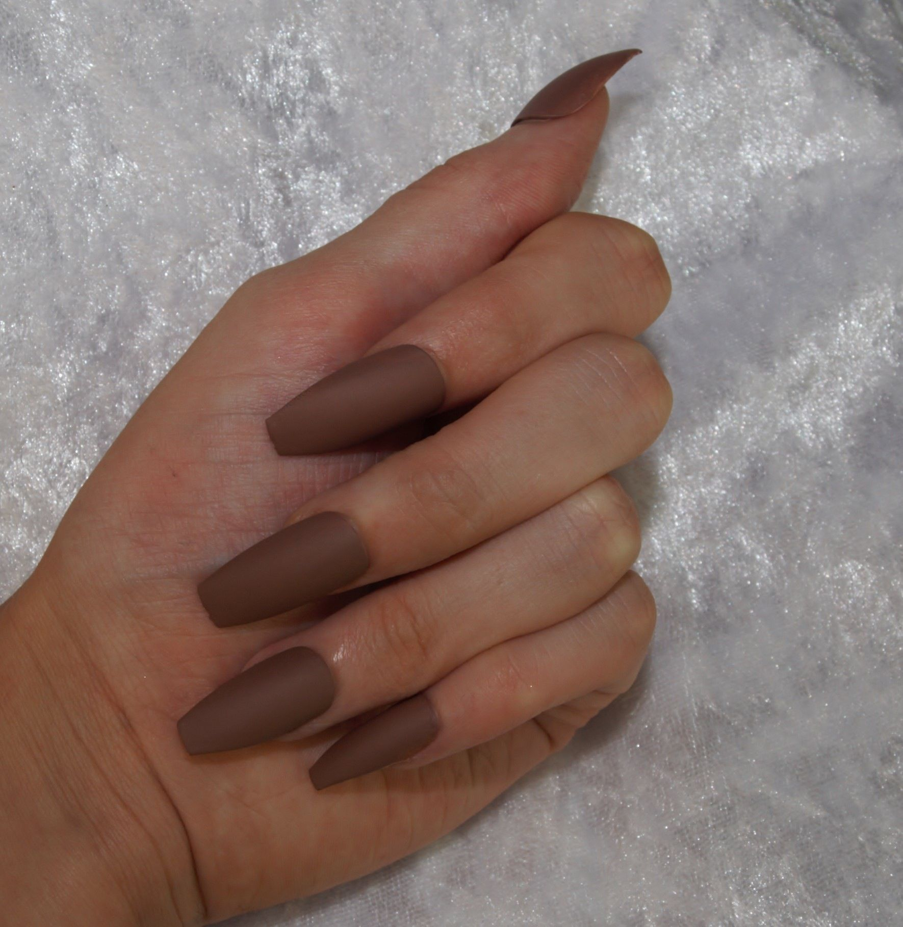 Matte Brown Nails | Best Nail Designs 2018