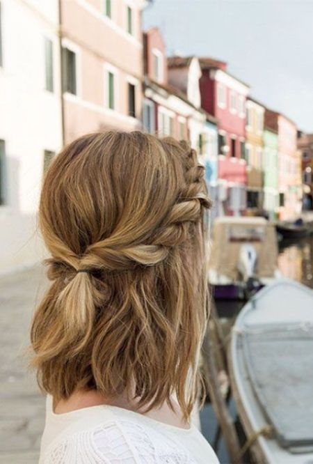 Easy Boho Hairstyles For Short Hair - Society19