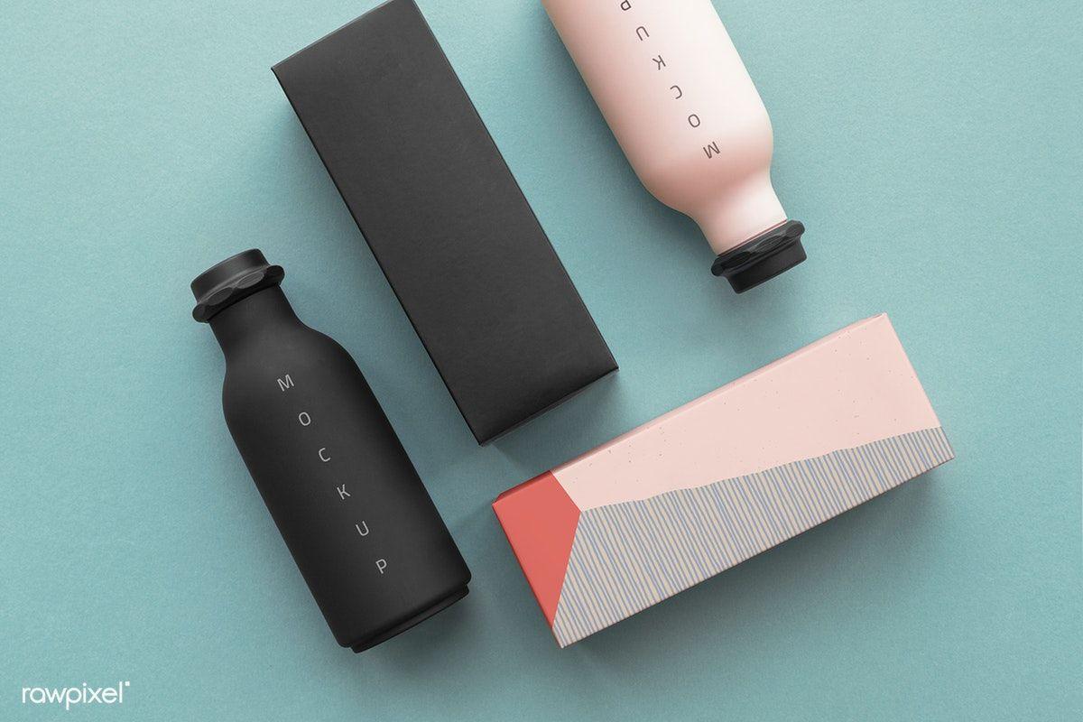 Download Premium Psd Of Minimal Reusable Water Bottle Mockup Design 1209863 Bottle Mockup Mockup Design Cool Packaging Design