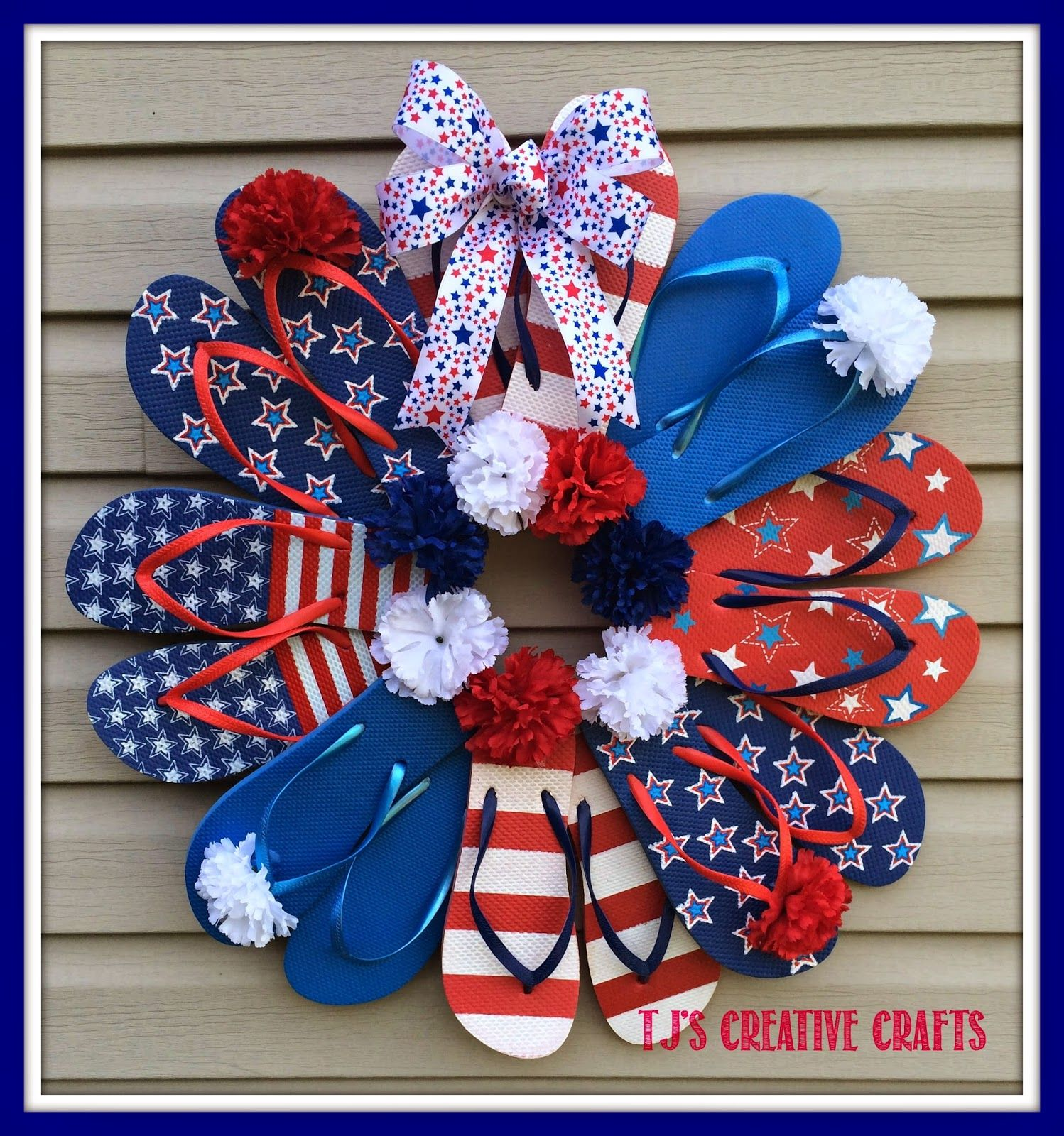 A Day In The Life with Tj DIY Dollar Store Patriotic