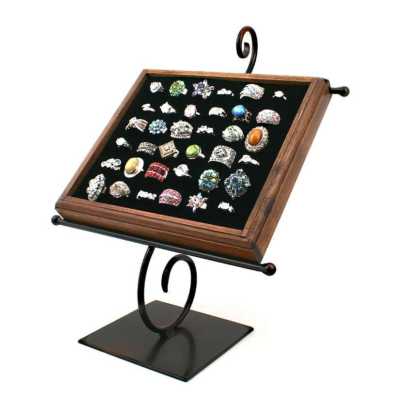 This Is Great To Store And Display Our Cocktail Rings