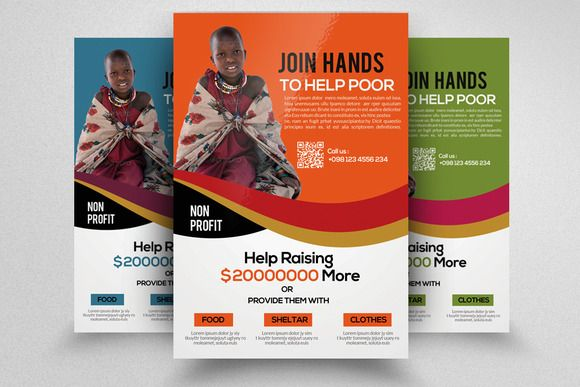 Charity Event Flyer Template By Business Flyers On
