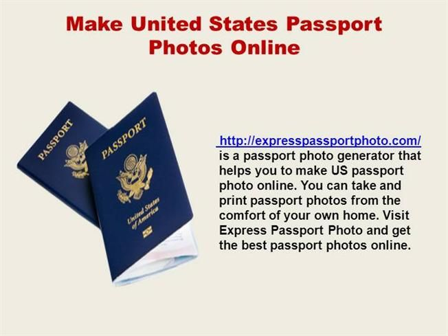 Do you want to make United States passport photos online? Have a look at our slideshow and get the full detail
