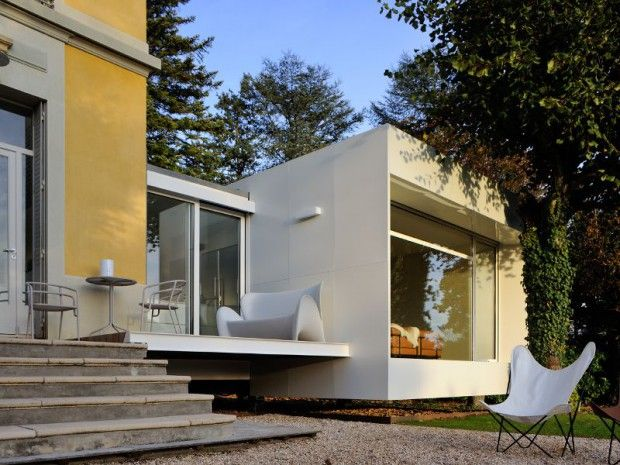 Maison XS  un cabanon contemporain Extensions