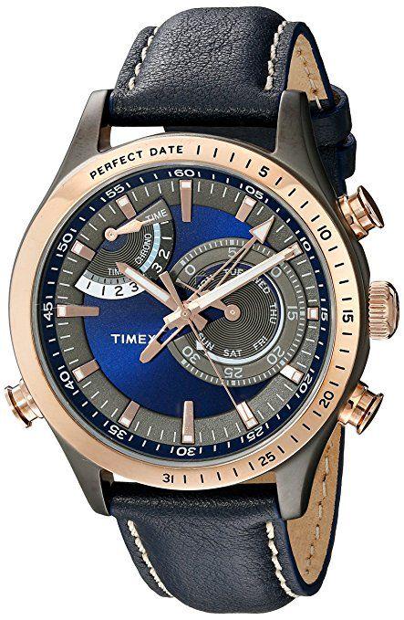 b1c0b4e087b2 Timex Hombre tw2p72700dh inteligente cuarzo Collection - Reloj de Pantalla  analógica cuarzo azul