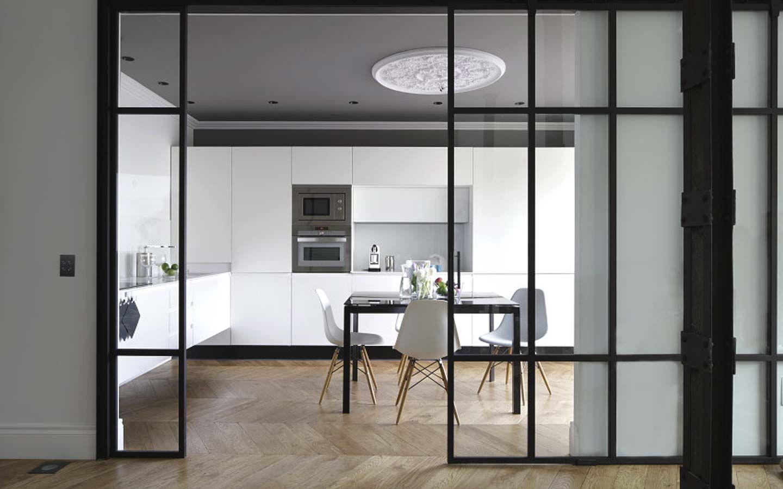 Puertas correderas de cristal para separar ambientes - Puertas interior cristal ...
