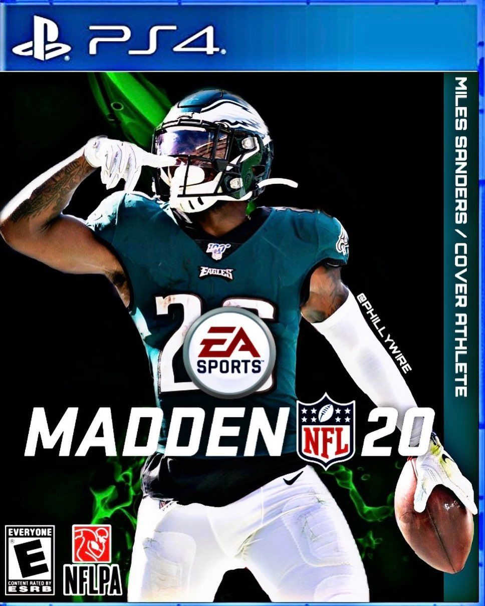 Miles Sanders Madden Cover Edit. Lmk what you think. Tag @boobiemilesxxiv - - #eagles #nfl #flyeaglesfly #football #philly #philadelphiaeagles #philadelphia #eaglesnation #birds #madden21 #carsonwentz #sports #madden #birdgang #madden20 #phillies #gobirds #flyers #sixers #raptors #eaglesfans #bleedgreen #mlb #baldeagle #nba #patriots #ps4 #superbowl #birdsofinstagram #bhfyp