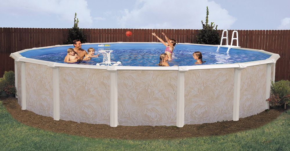 Deep Above Ground Pools Deep End Pools Doughboy Pools Swimming Pools Pinterest