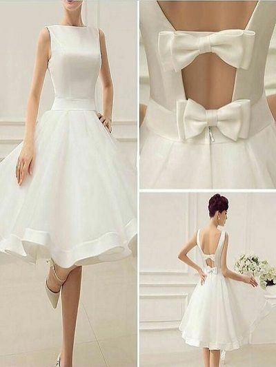 White Homecoming Dresses,Cheap Homecoming Dresses,HD012 from Okeybridal