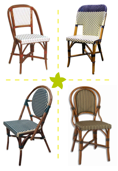 So Iu0027m Back To Obsessing About Dining Chairs. Iu0027ve Seen These Cute Rattan  Chairs Around And I Love U0027em.