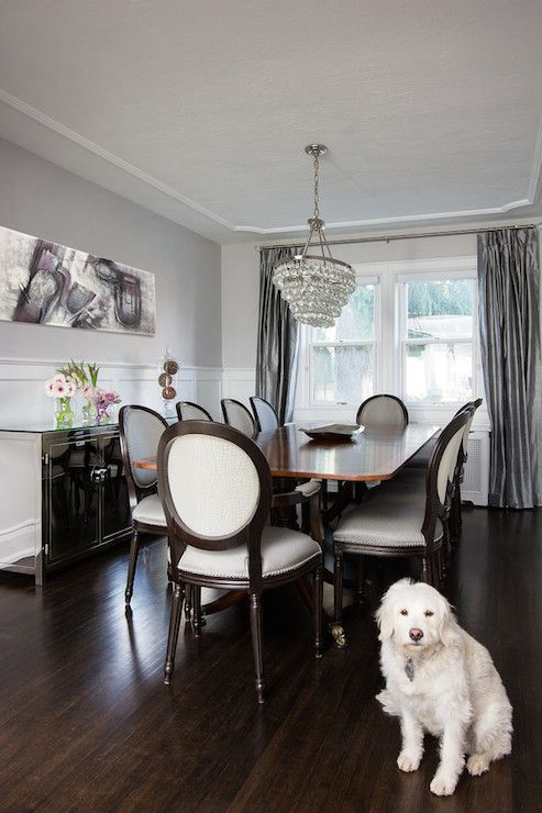 Jodie Rosen Design Dining Rooms Benjamin Moore Gray