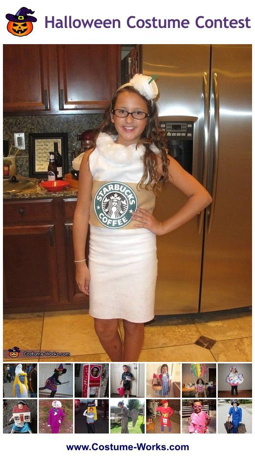Homemade Costumes For Girls Tween Halloween Costumes Starbucks