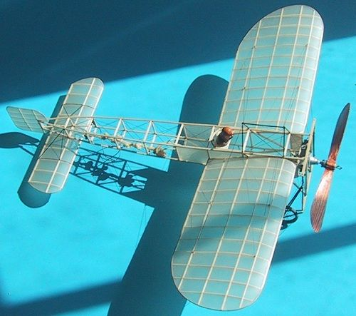 Blériot XI échelle cacahuète - Peanut Scale … | RC Aircraft | Model…