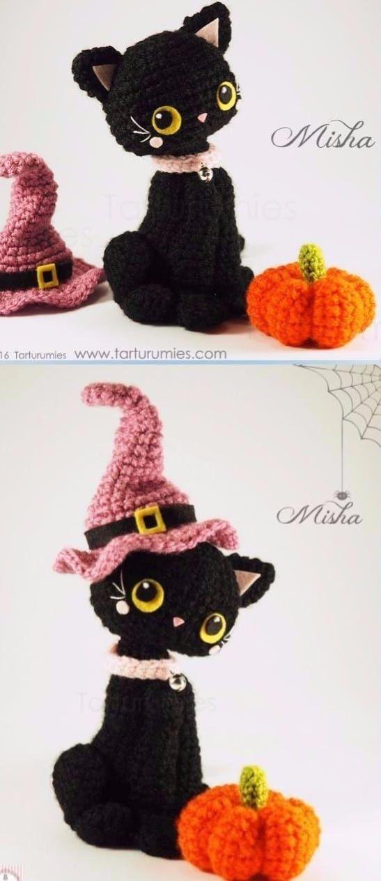 Crochet Cat Patterns Cutest Ideas Tutorials Amigurumi | Ganchillo