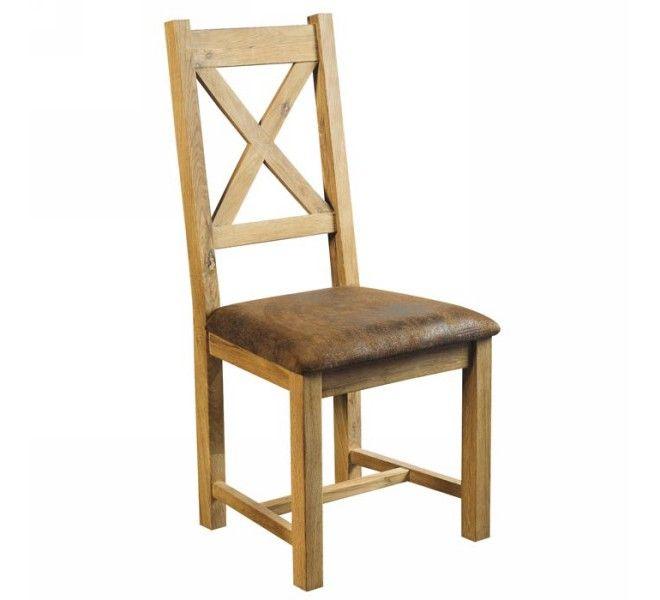 étonnant chaise bois assise cuir Décoration fran§aise