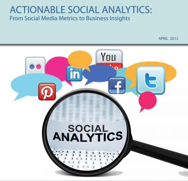 PDF download  Actionable Social Analytics from @Awareness