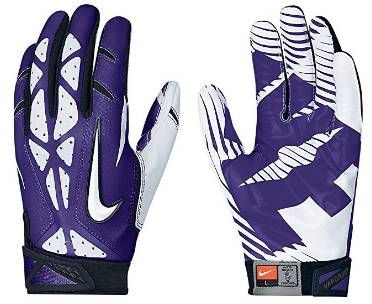 There are several Nike football gloves to choose such as Vapor Jet &  Superbad. If you are looking for cheap gloves or brand new ones, check  these.