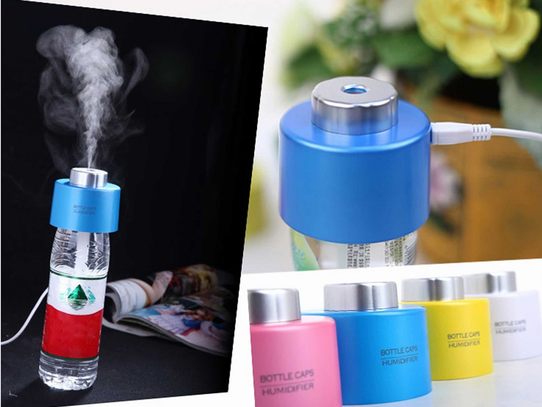 Portable Water Bottle Humidifier Mini Bottle Caps