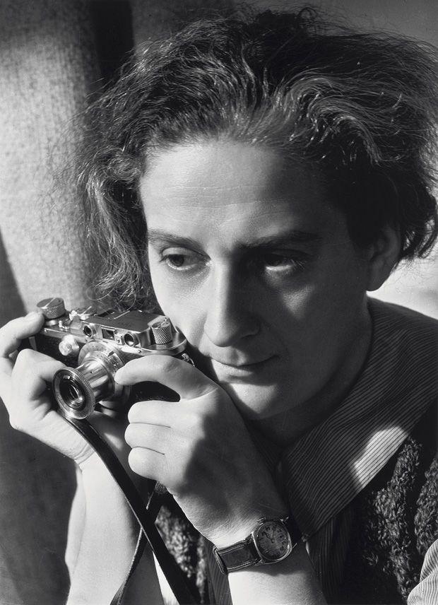 Lotte Jacobi, New York 1935, photographed by Ruth Jacobi