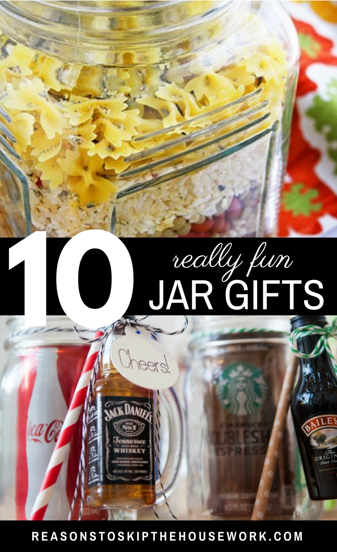 DIY Gifts in a Jar: The perfect ideas for gifting on all occasions!