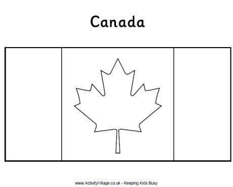 - Canadian Flag Colouring Page Flag Coloring Pages, Canada Day Crafts, Coloring  Pages