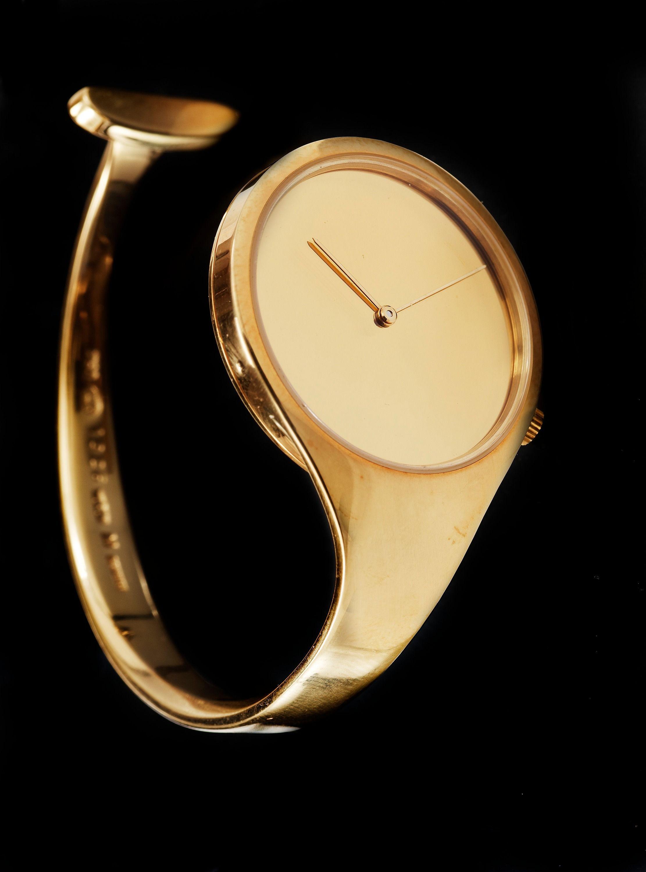 Vivianna Torun Bülow Hübe 18k Gold Watch By Georg Jensen Post 1967