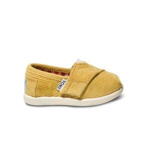 4b9b95d54e Mustard color corduroy baby toms! | Pour Ma Petit RoRo | Tiny toms ...
