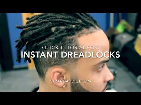 How To Make Dreads Lock Faster Youtube Hair Tutorial How To Make Dreads How To Do Dreadlocks