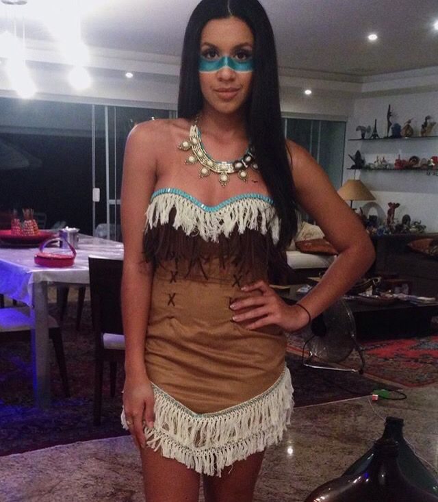 pocahontas carnaval pinterest kost m fasching kost m und fasching. Black Bedroom Furniture Sets. Home Design Ideas