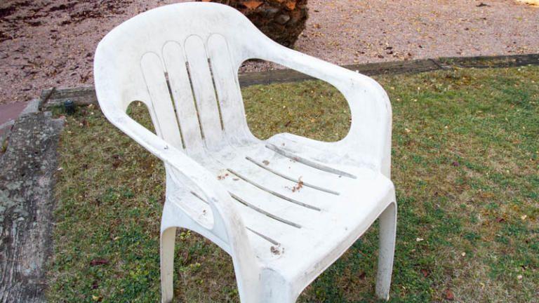 Pintar Sillas De Plastico De Terraza Blancas Pintando Sillas De