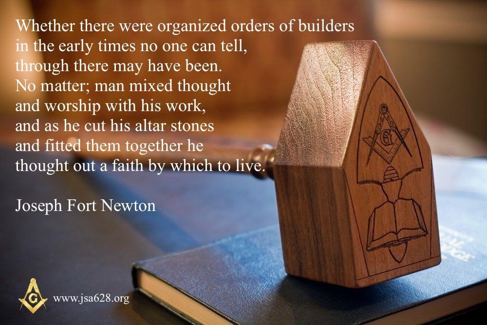 Joseph Fort Newton Organization Thoughts Canning
