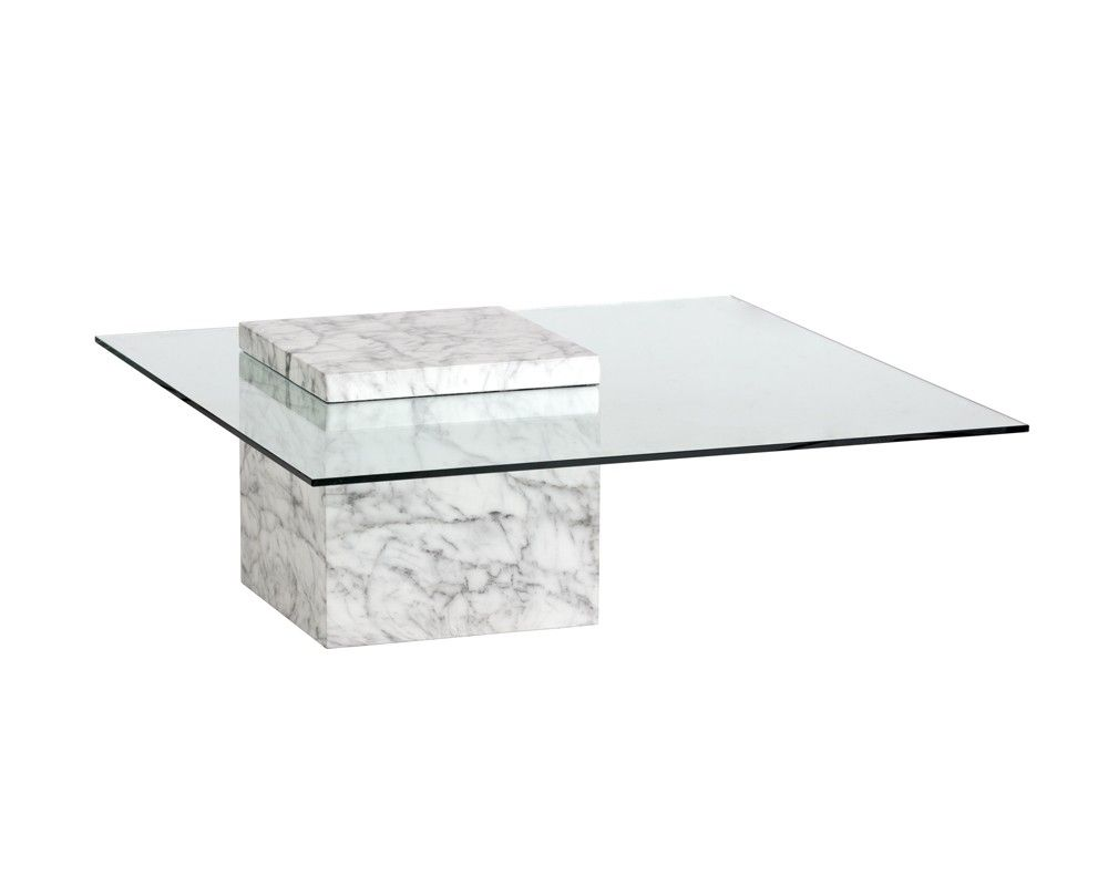 Gail Coffee Table Marble Look Coffee Tables Occasional Tables Products [ 800 x 1000 Pixel ]