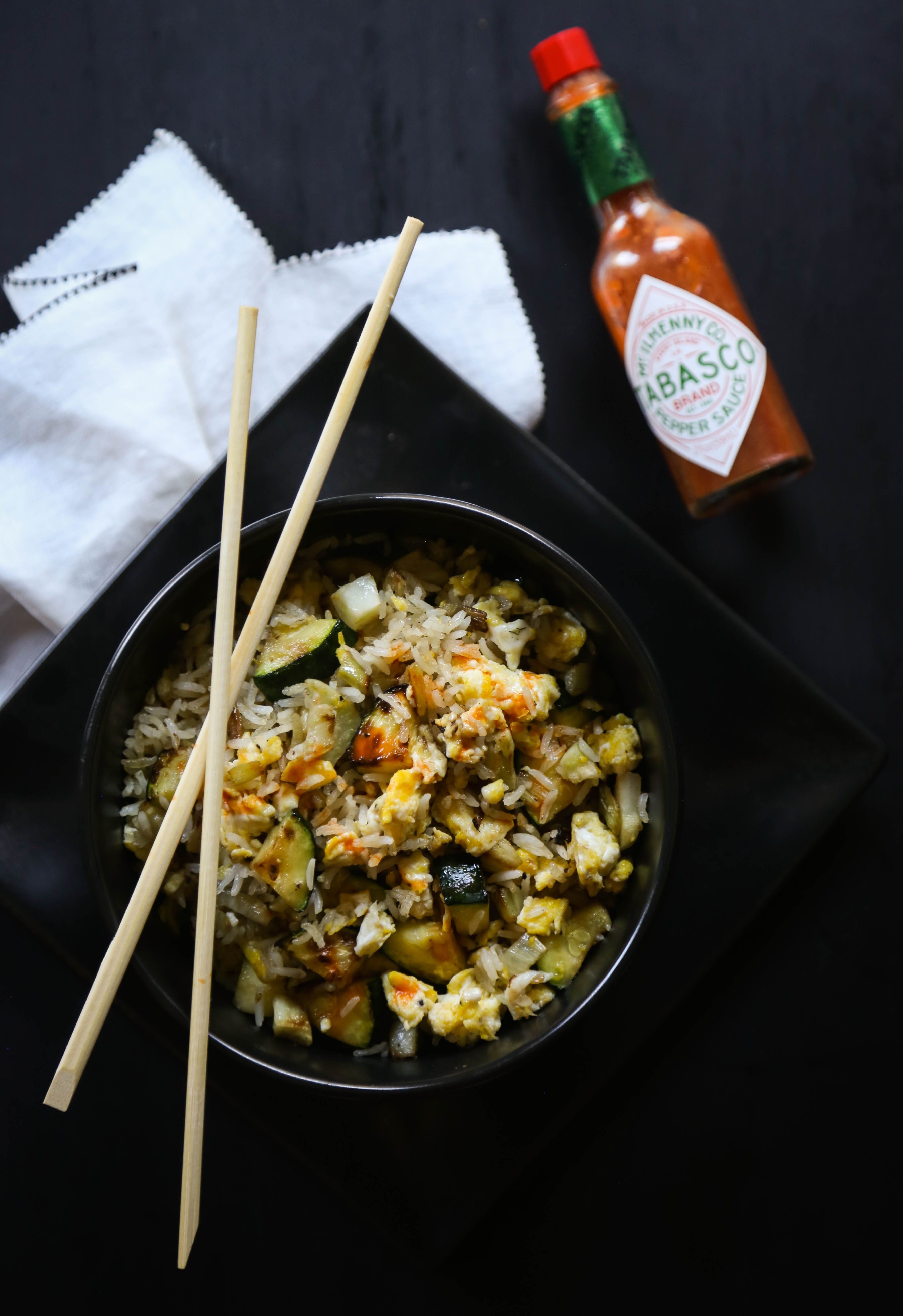 Fried rice veggie bowls with tabasco healthy fried rice rice and menu ditch the take out menu and make your own easy and healthy fried rice veggie ccuart Choice Image