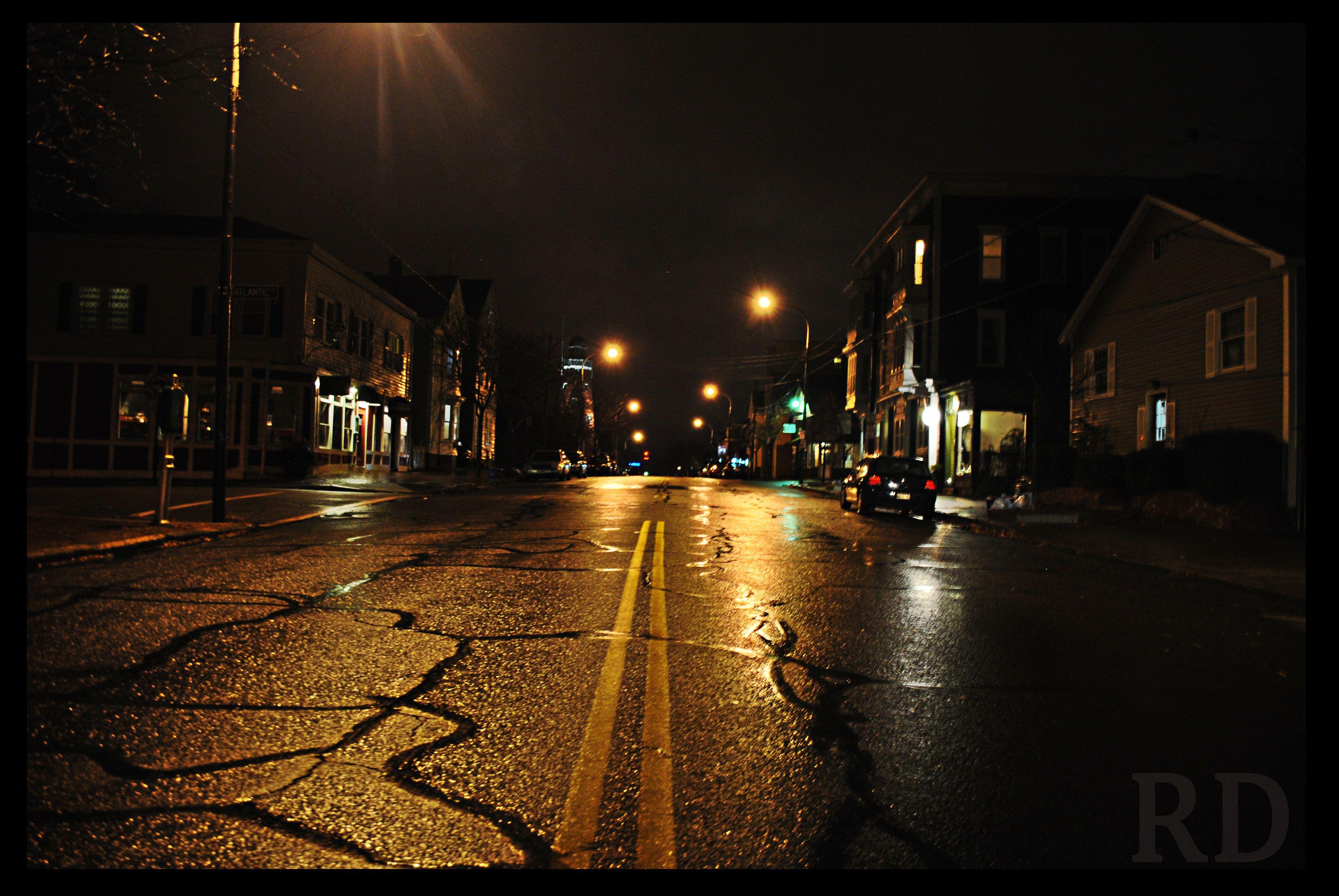 Empty City Street Google Search