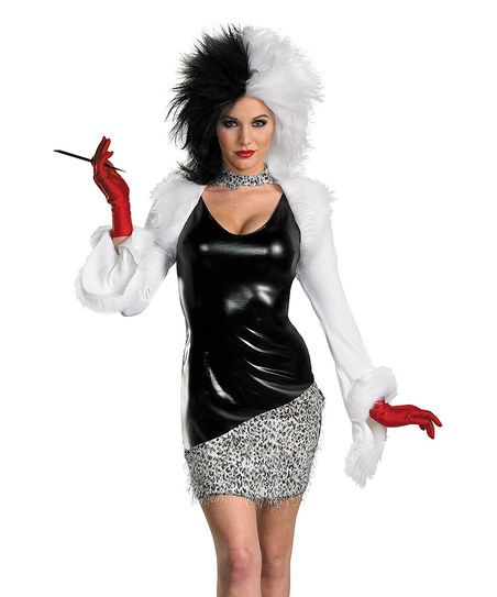 Sassy Cruella Costume Set - Women Style Pinterest Cruella - greaser halloween costume ideas