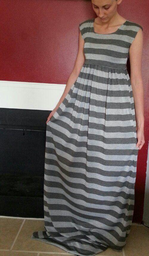bd63332f1e0 cute diy maxi dress- INSTRUCTIONS included!