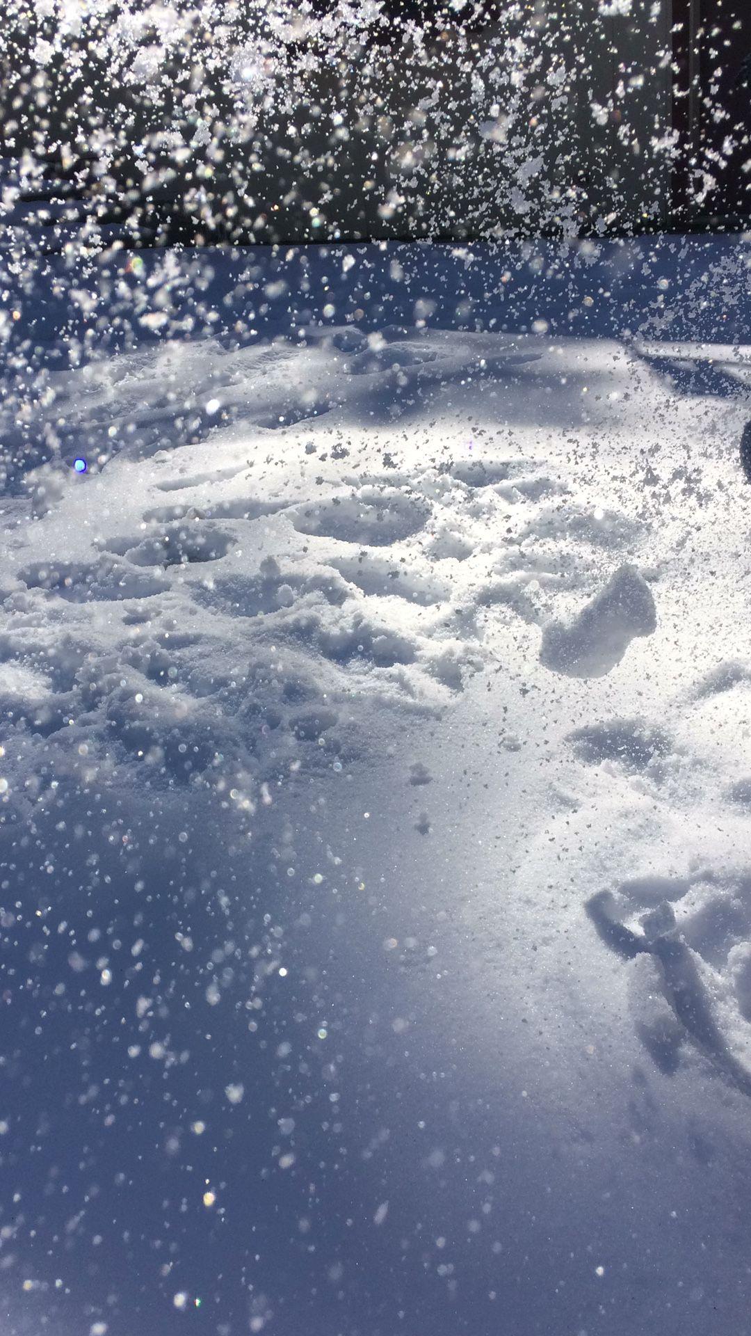 Magic of snow